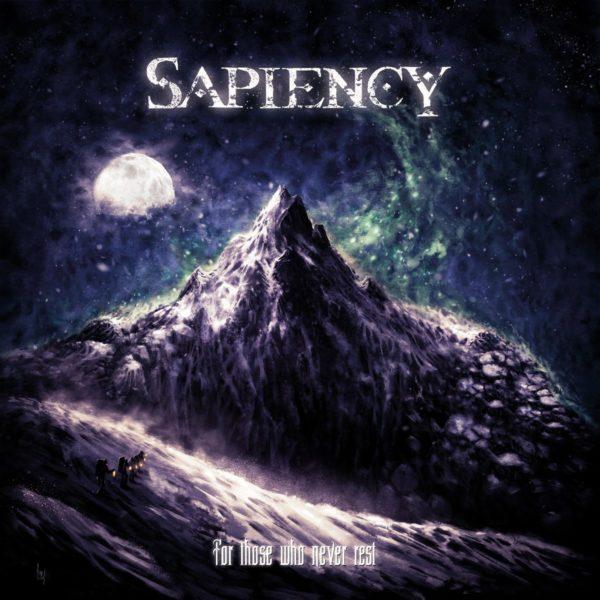 """Cover-Artwork zum Sapiency-Album """"For Those Who Never Rest"""""""