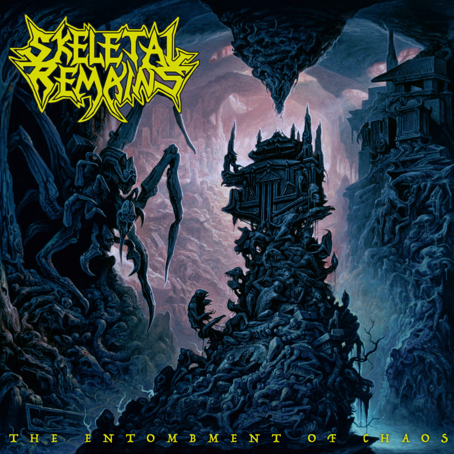Skeletal Remains - The Entombment Of Chaos Cover-Artwork