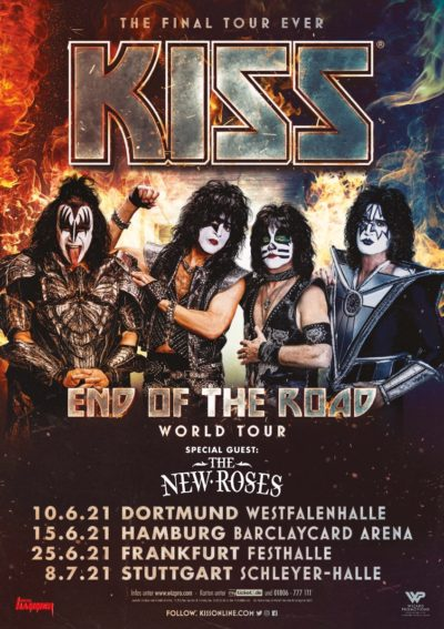 KISS - End of the Road 2021, Tourplakat