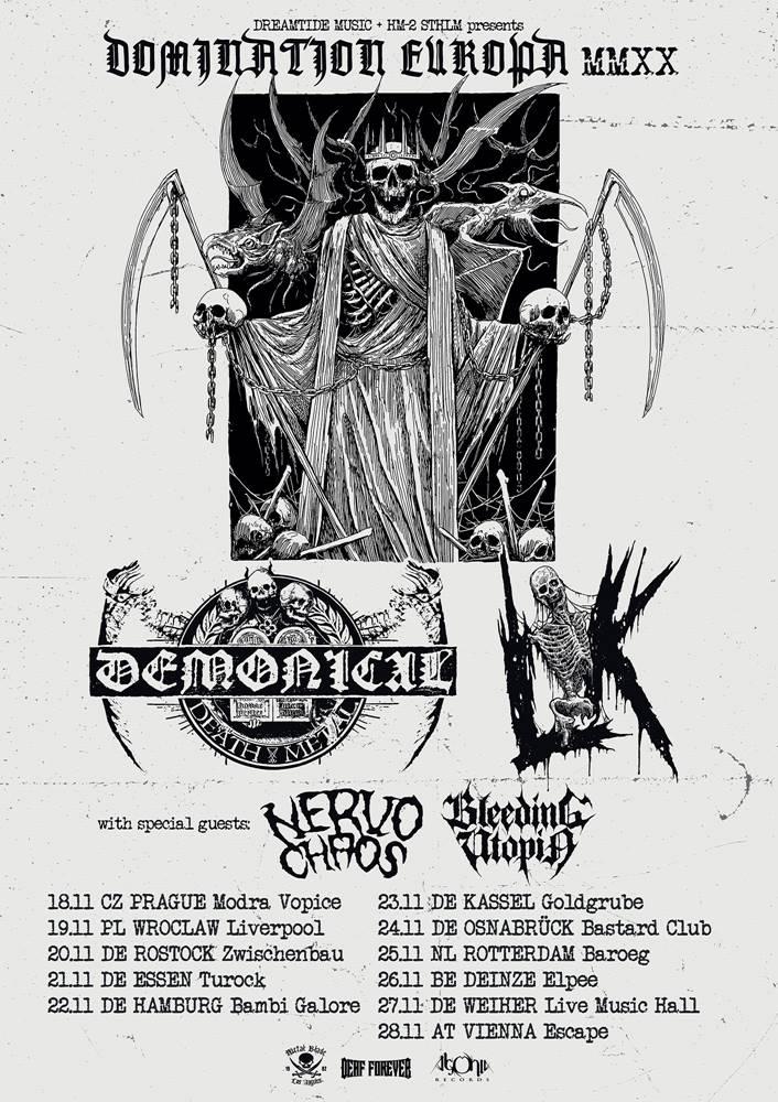 Demonical & LIK Tour 2020