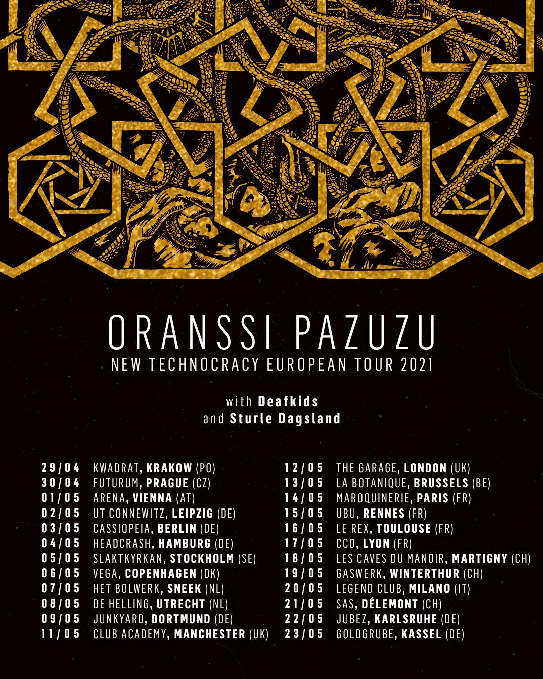 Oranssi Pazuzu Tour 2021