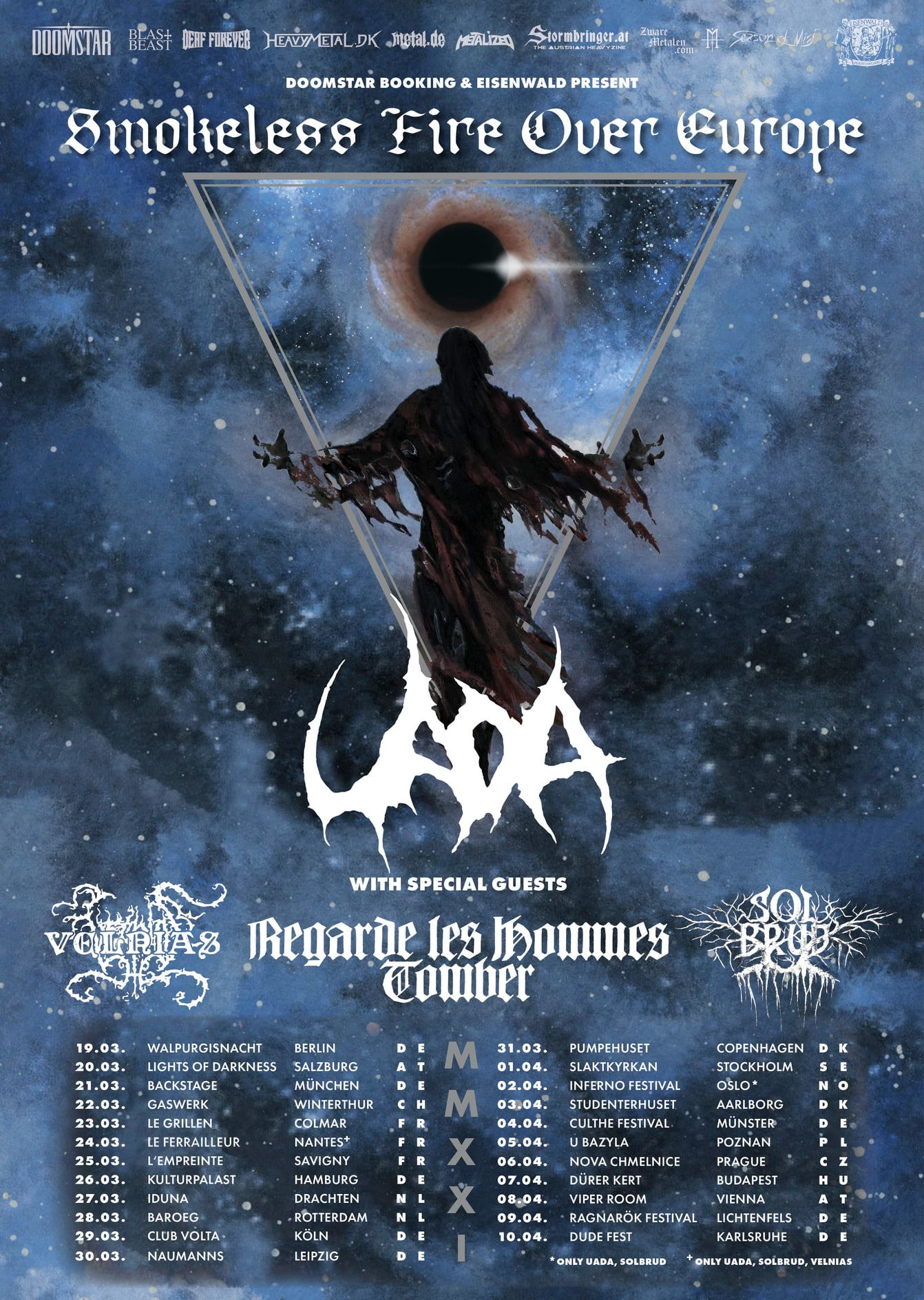 Uada Tour 2021