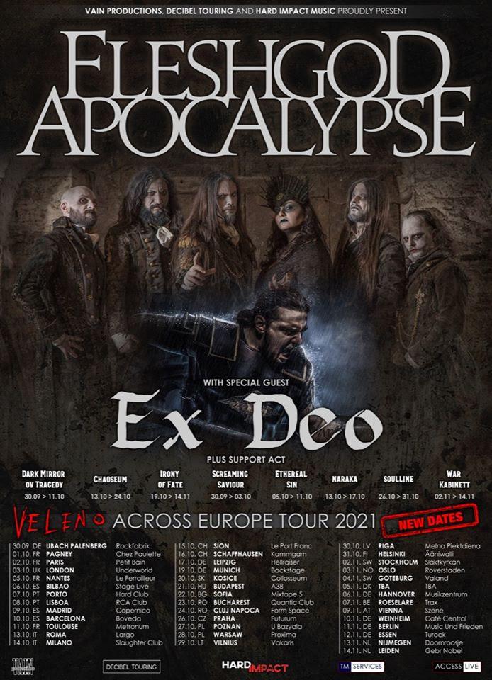 Fleshgod Apocalypse Tour 2021