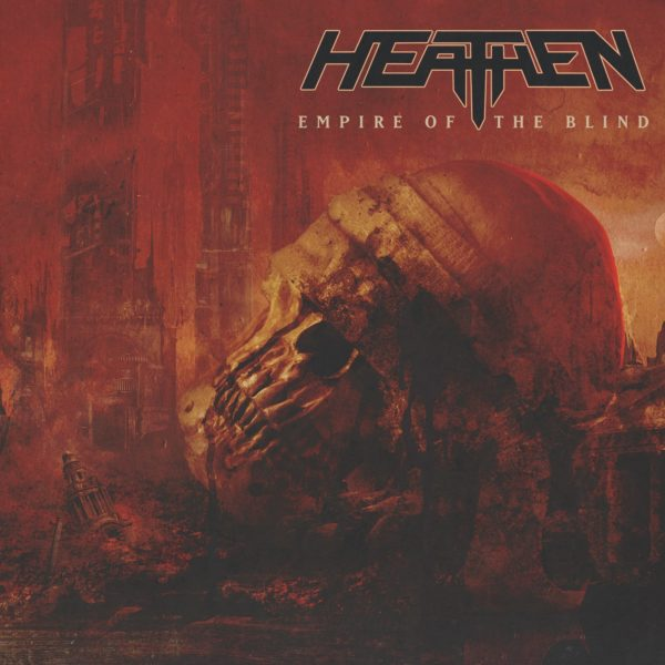"Cover Artwork von HEATHEN ""Empire Of The Blind"""
