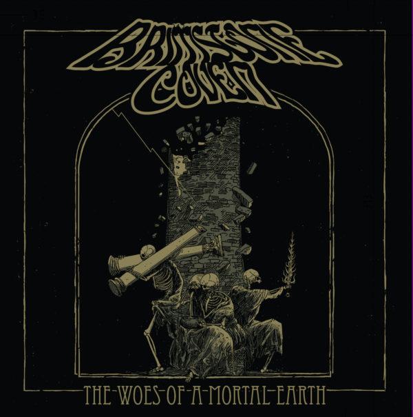 "Cover Artwork von BRIMSTONE COVEN ""The Woes Of A Mortal Earth"""