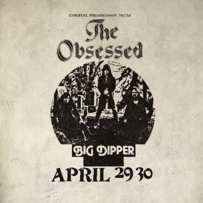 The Obsessed - Live at Big Dipper - Cover