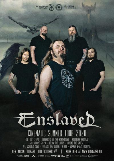 Enslaved - Cinematic Summer Tour 2020