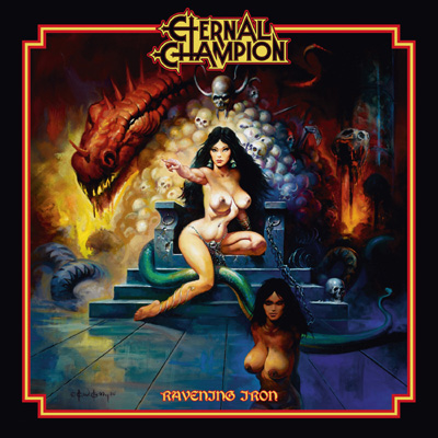 Eternal Champion - Ravening Iron Cover Artwork