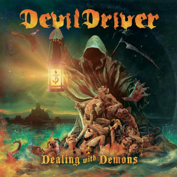DevilDriver-Dealing With Demons Cover Artwork