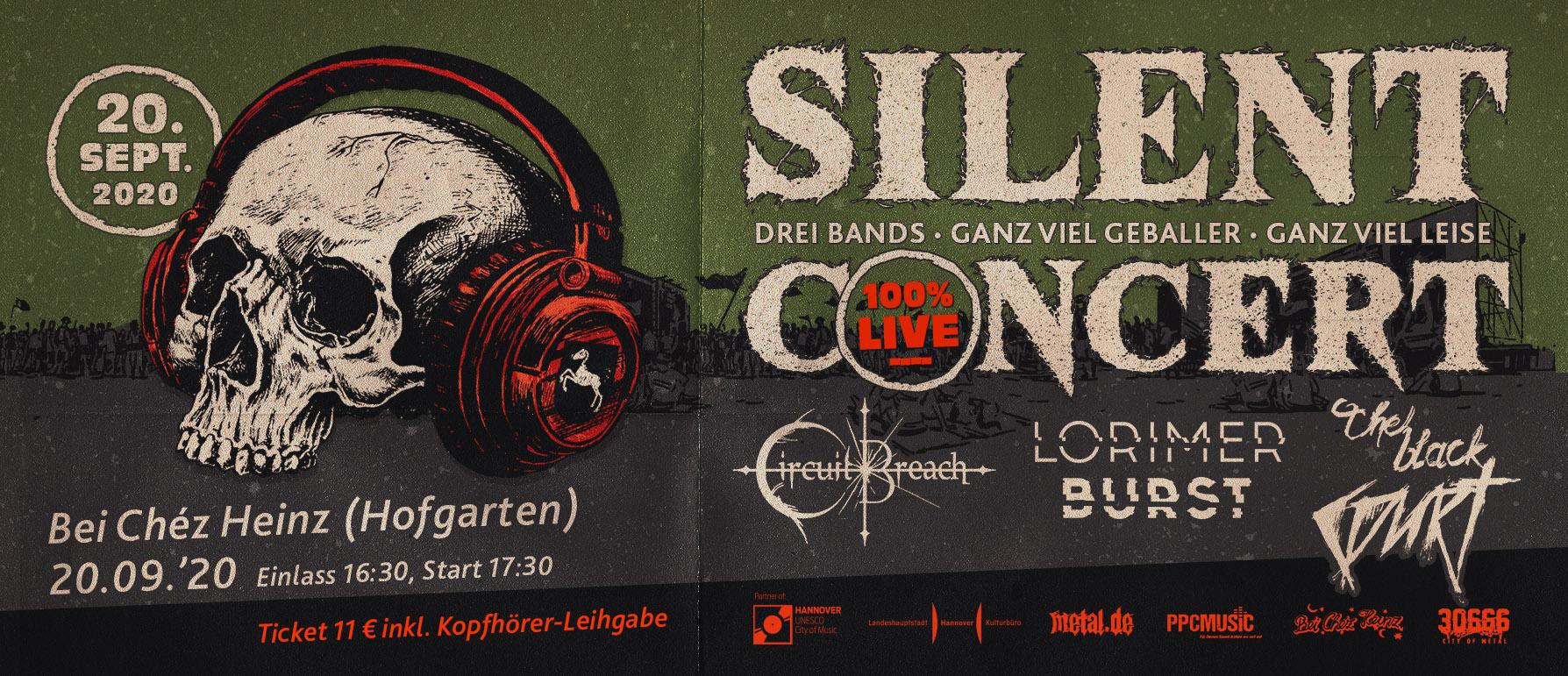 Silent Concert Flyer