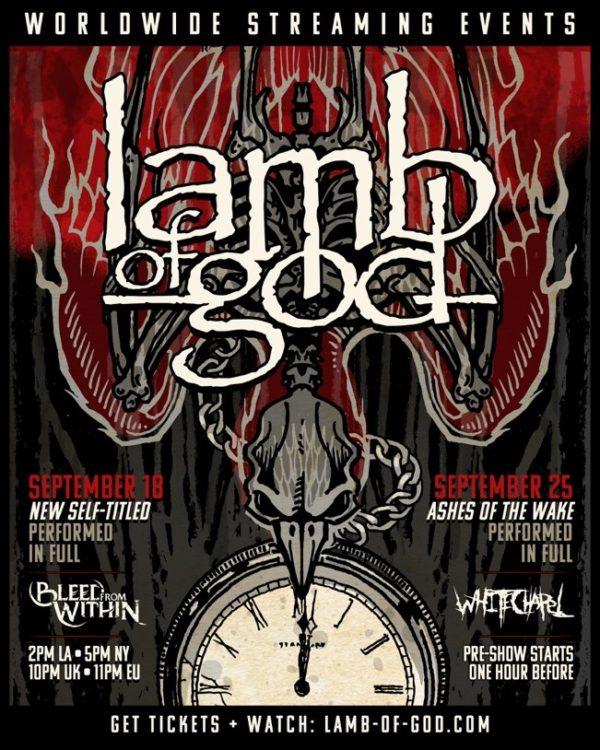 Lamb of God - Livestream-Event 2020
