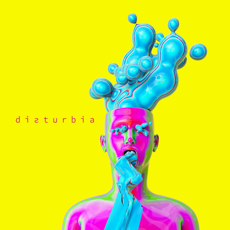 Antiheld - Disturbia Albumcover