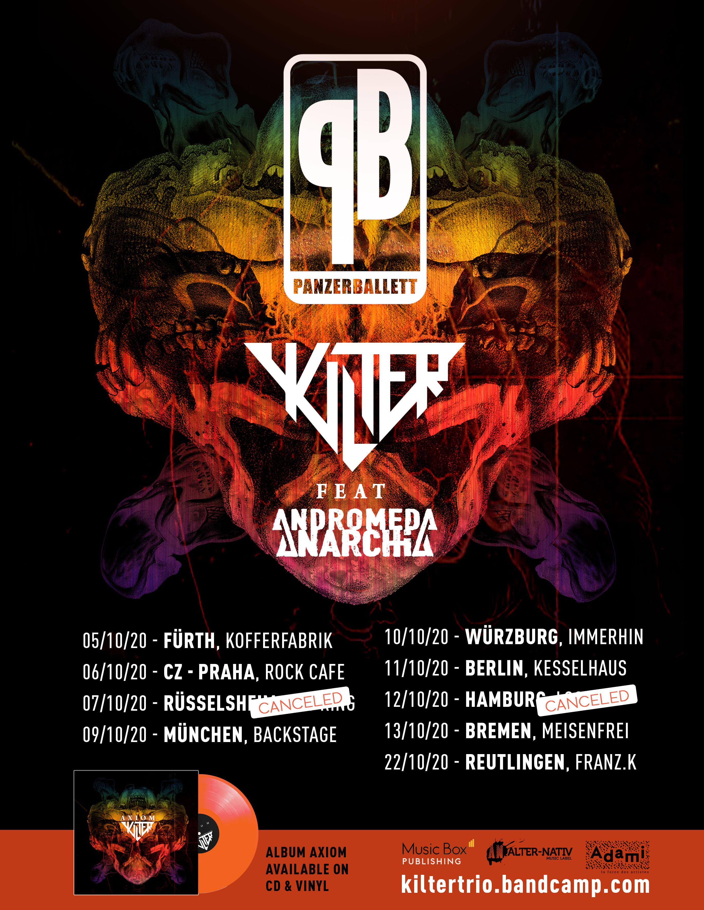 Panzerballet Tour 2020 Flyer