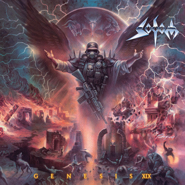 Sodom - Genesis XIX Cover Artwork