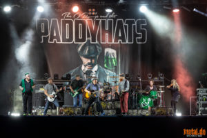 Konzertfoto von The O'Reillys and the Paddyhats - Strandkorb Metfest 2020