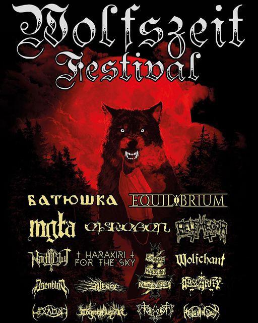 Poster Wolfszeit Festival 2020