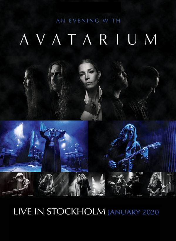 """Cover Artwork von AVATARIUM - """"An Evening With AVATARIUM – Live In Stockholm January 2020"""""""