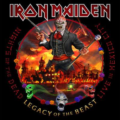 Iron Maiden - Nights Of The Dead (Artwork)