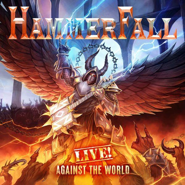Hammerfall Live Against The World Albumcover