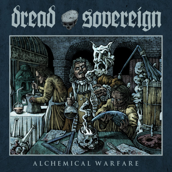 "Cover Artwork von DREAD SOVEREIGN ""Alchemical Warfare"""