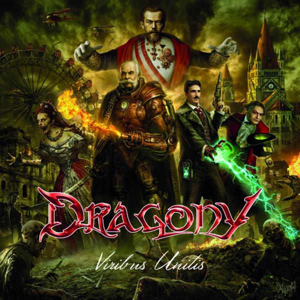 """Cover Artwork von DRAGONY - """"Viribus Unitis"""""""