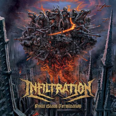 Albumcover: Infiltration - Point Blank Termination