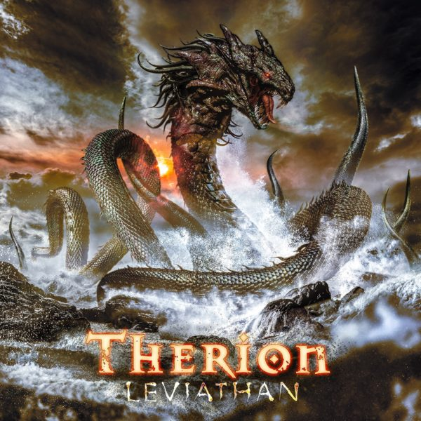 "Cover Artwork von THERION ""Leviathan"""