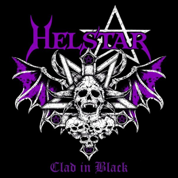 Albumcover - Helstar - Clad In Black