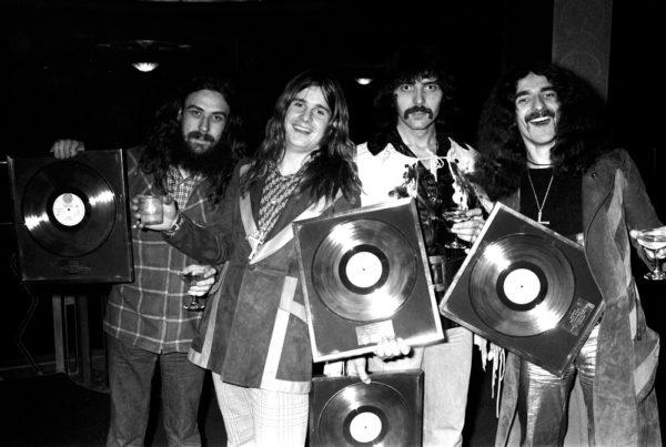 Black Sabbath Bandfoto 1971 Vol 4 Revisited