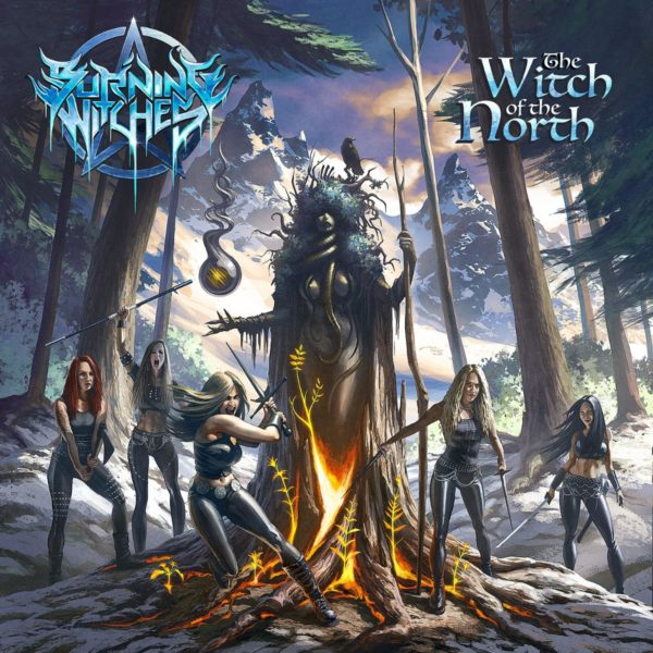 """Cover-Artwork zu """"The Witch of the North"""" von BURNING WITCHES"""