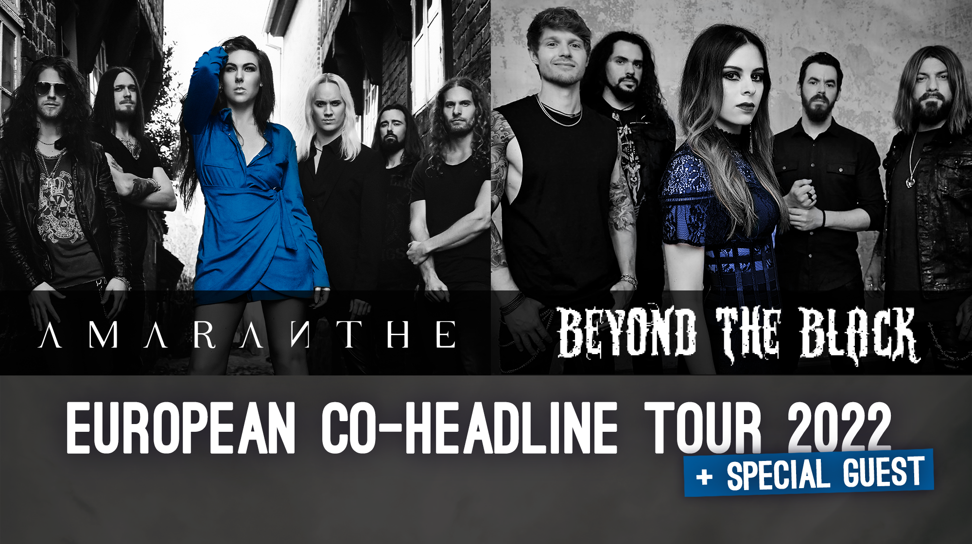 Beyond the Black & Amaranthe - CO-Headline Tour 2022