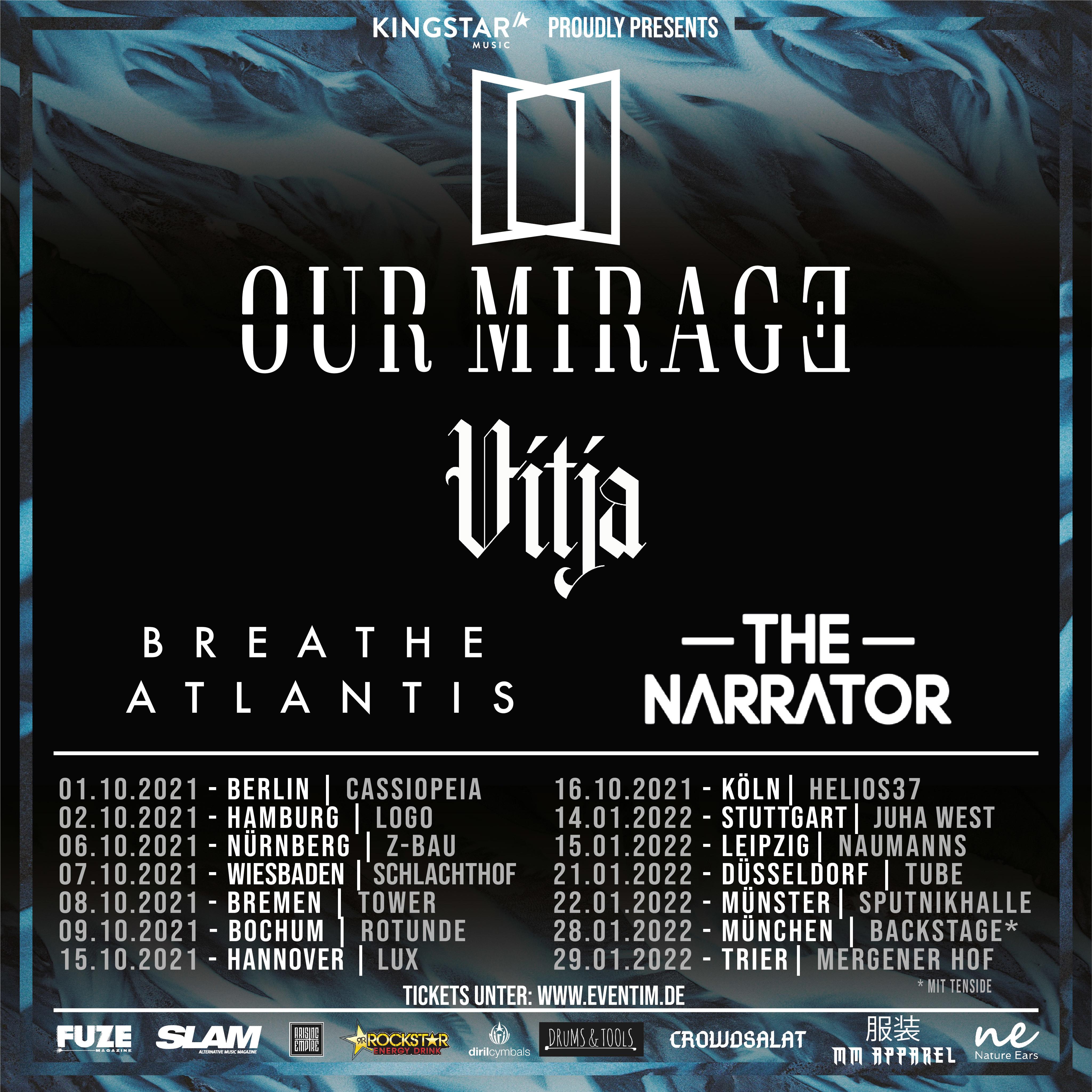 Our Mirage - Arising Tour 2021