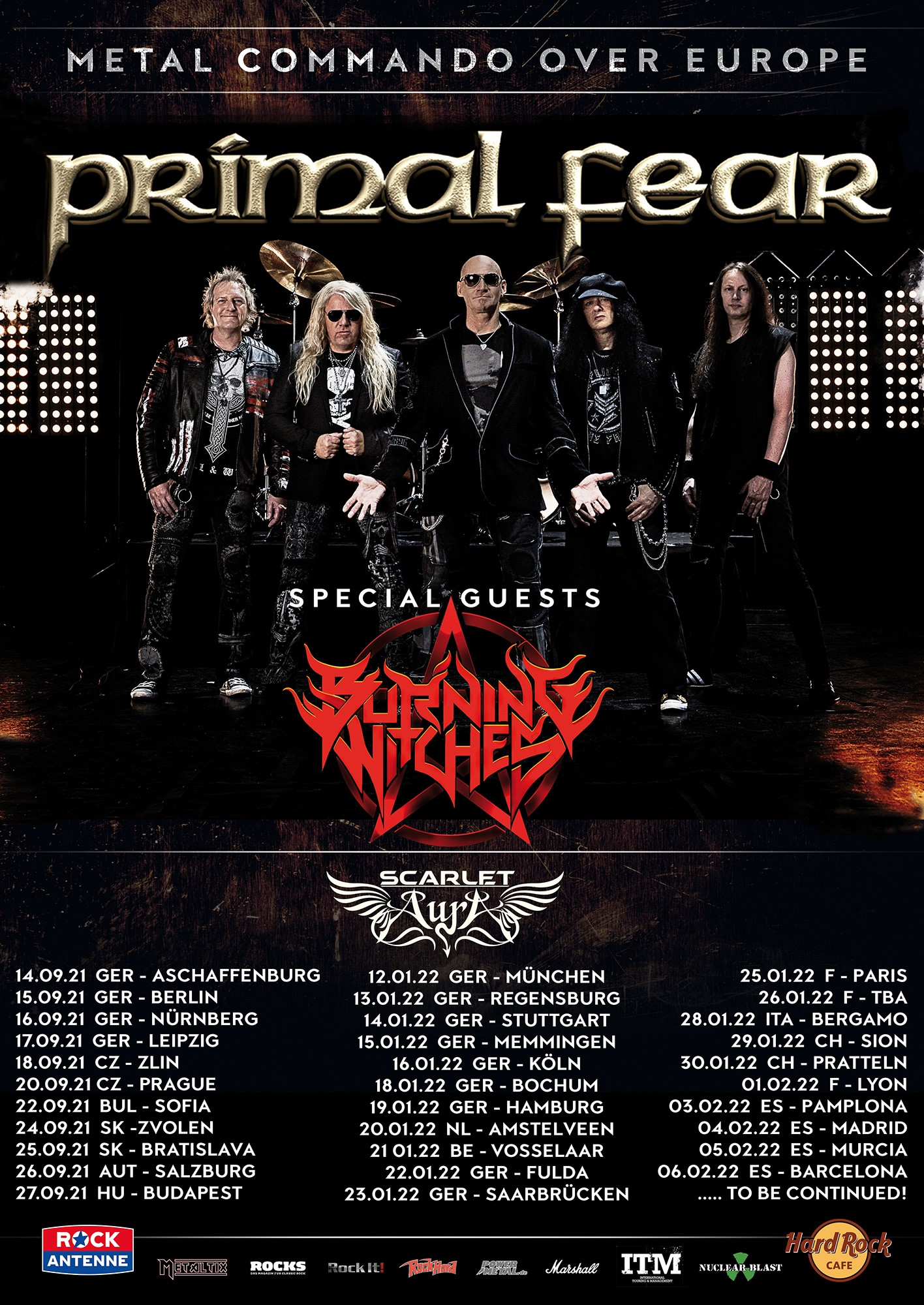 Primal Fear - Metal Commando Over Europe 2021/2022