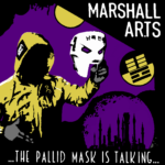 Marshall Ar.Ts - ... The Pallid Mask Is Talking ... Cover