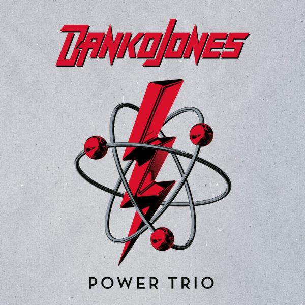 "Cover von DANKO JONES' ""Power Trio"""