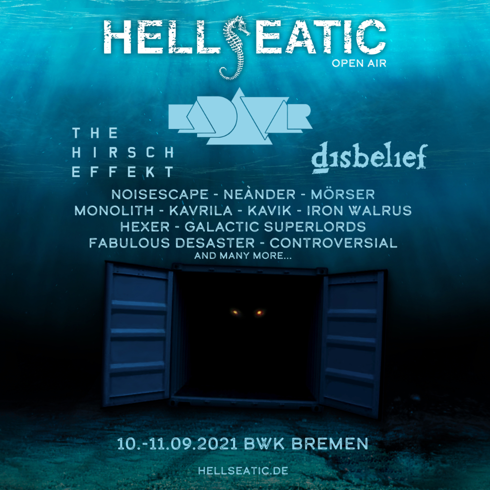 Festivalplakat Hellseatic Open Air 2021