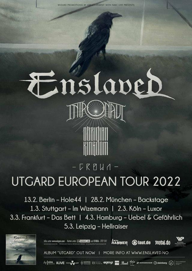 Enslaved Tour 2022