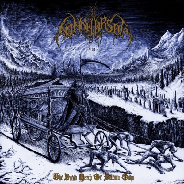 "Ninkharsag - ""The Dread March of Solemn Gods"" - Cover"