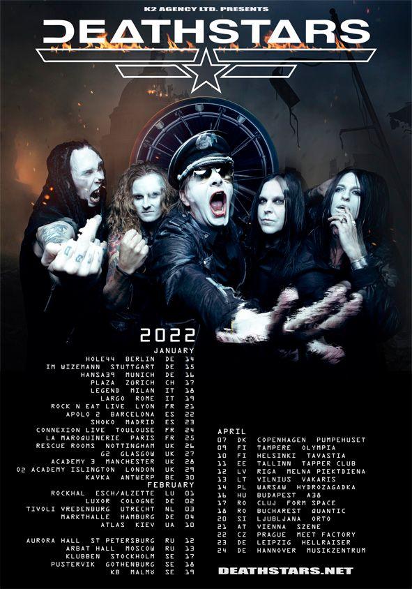 Deathstars - Tour 2022