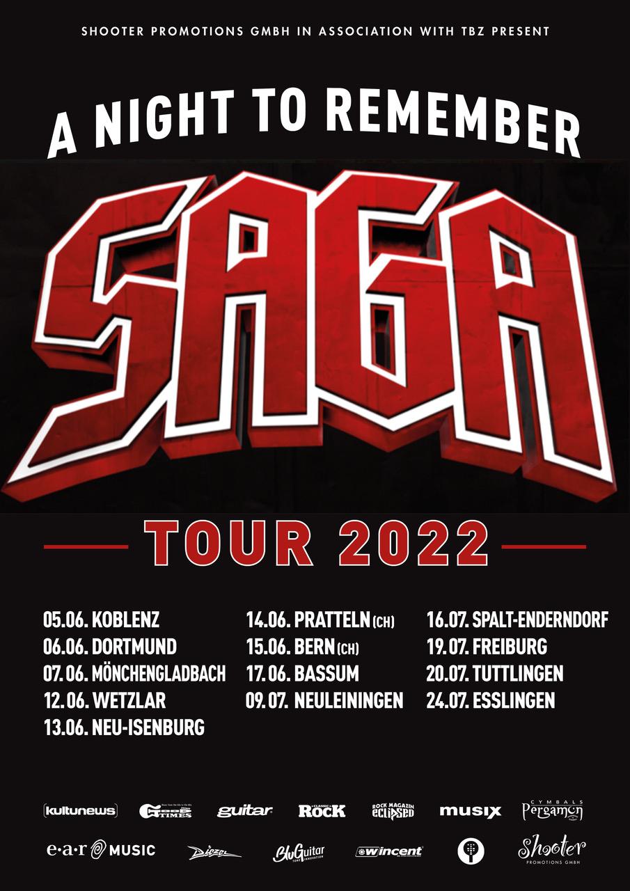 Saga - Tour 2022