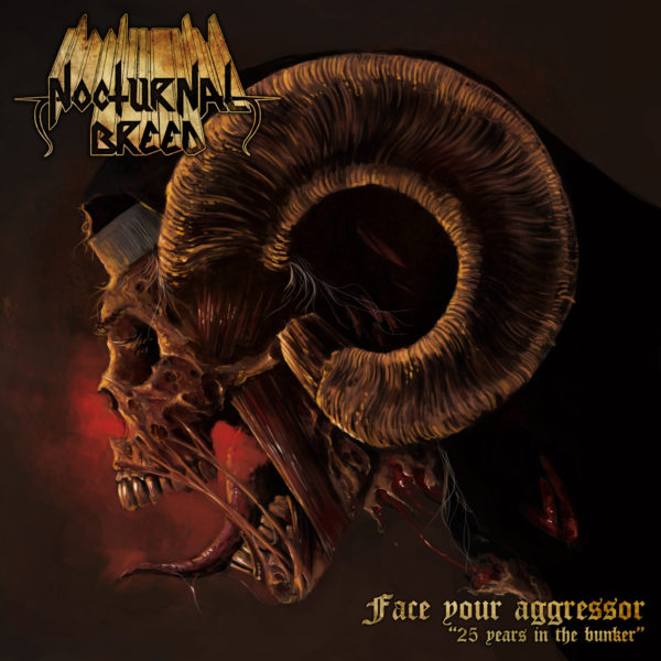 Nocturnal Breed - Face Your Aggressor - 25 Years in the Bunker Cover Artwork