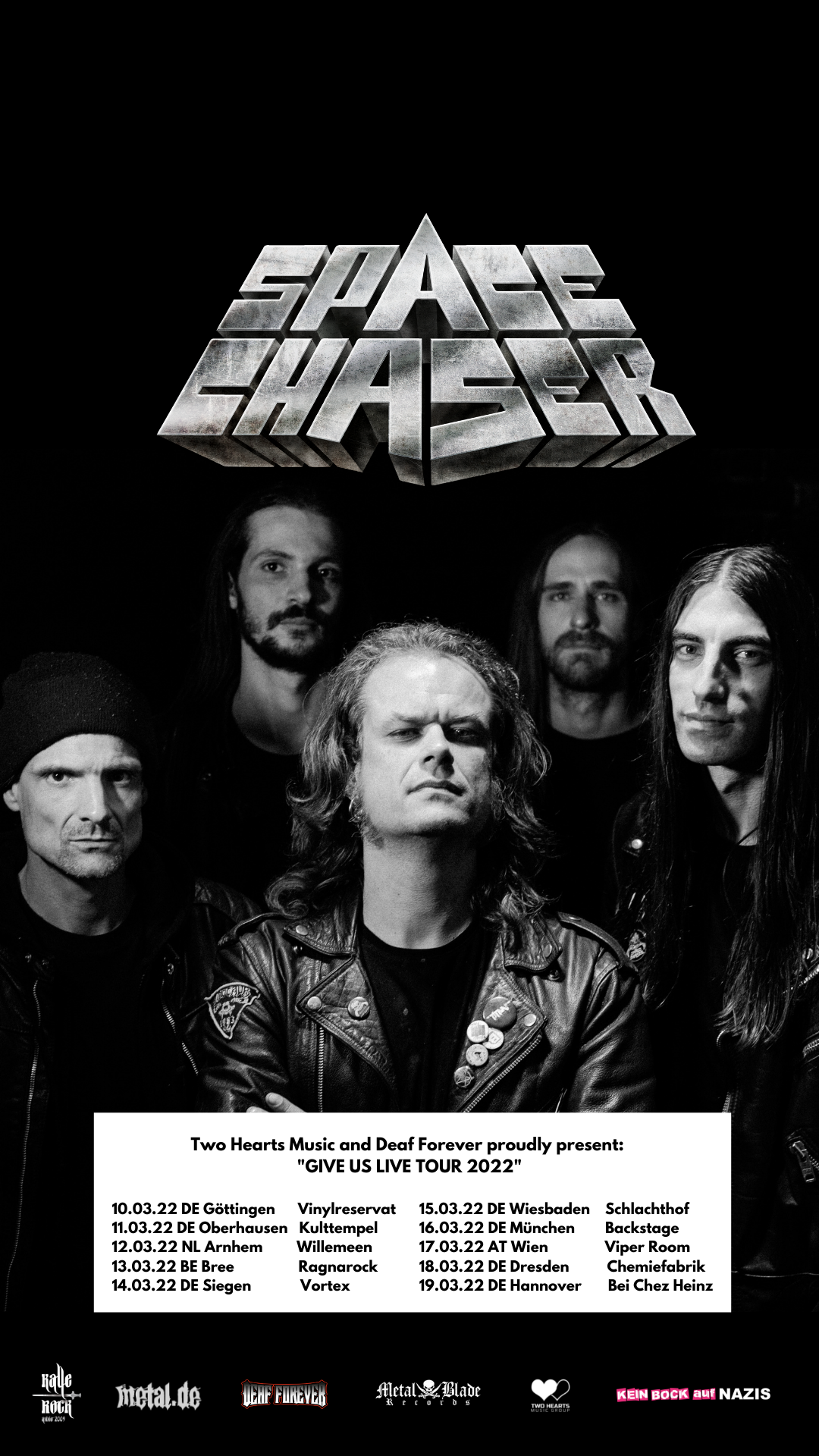 Spacer Chaser Give Us Live Tour 2022