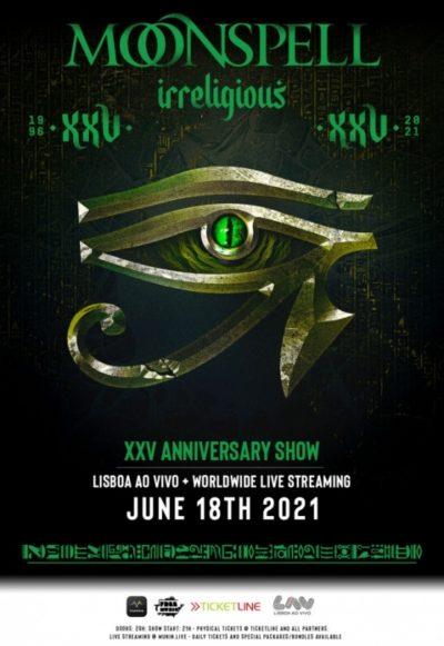 Moonspell - Stream Event 2021