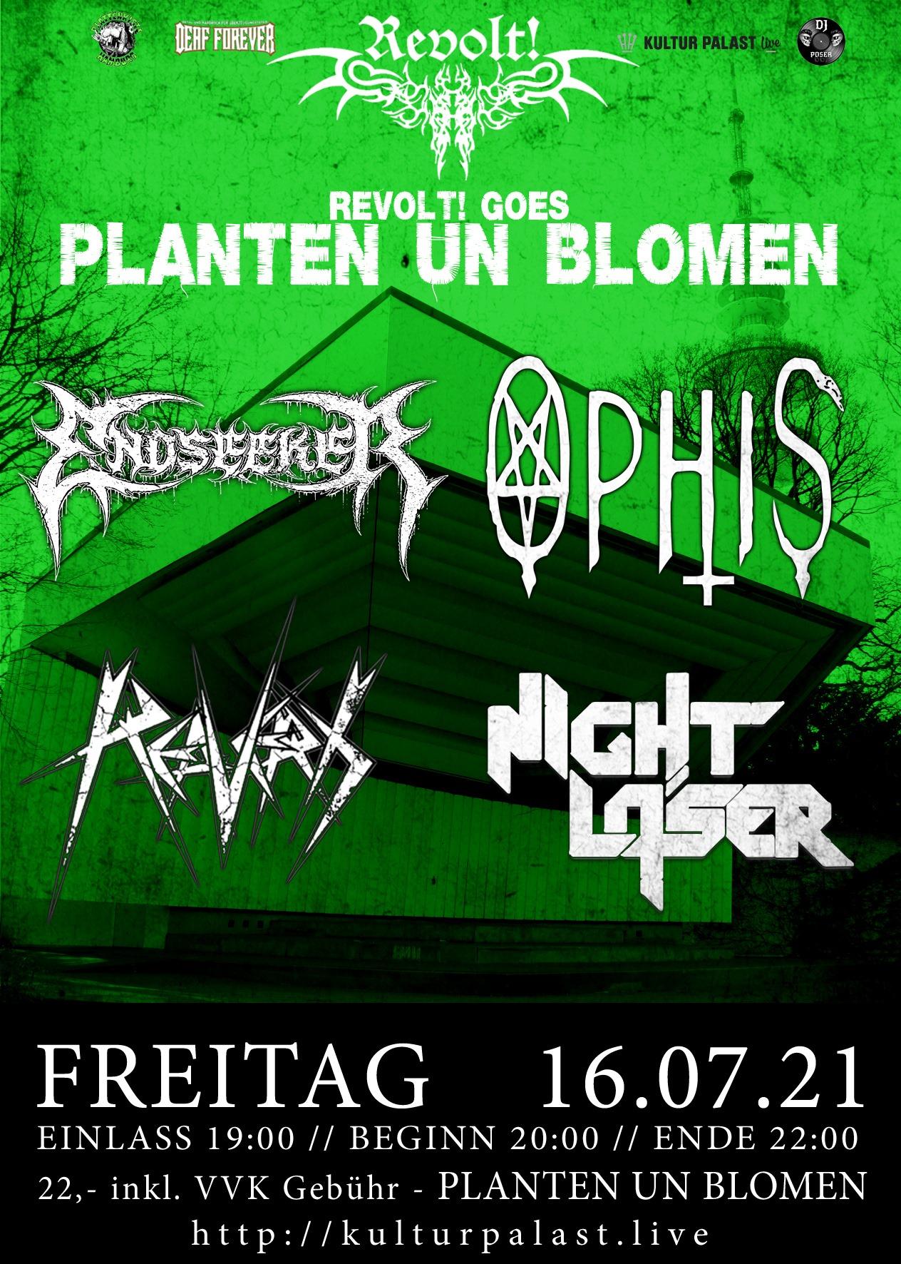 Revolt! Goes Planten Un Blomen