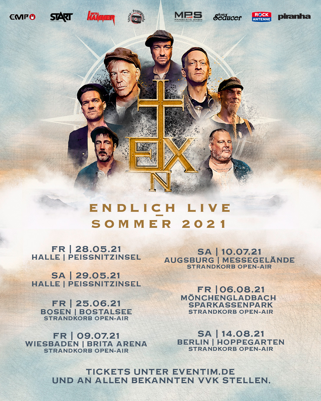 Flyer - In Extremo - Endlich Live 2021
