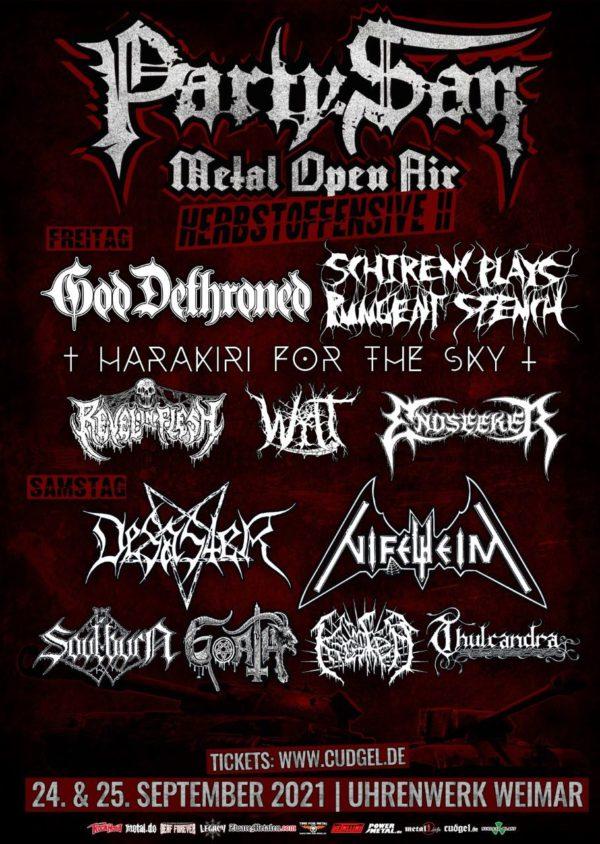Party.San Metal Open Air - Herbstoffensive II 2021
