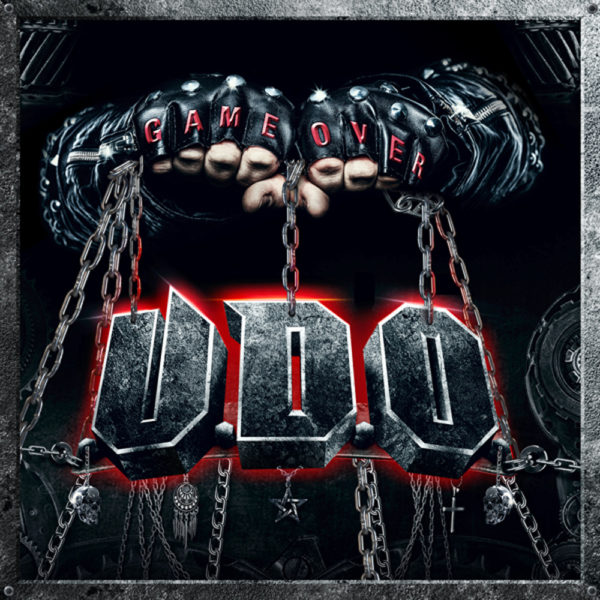 U.D.O. - Game Over Cover