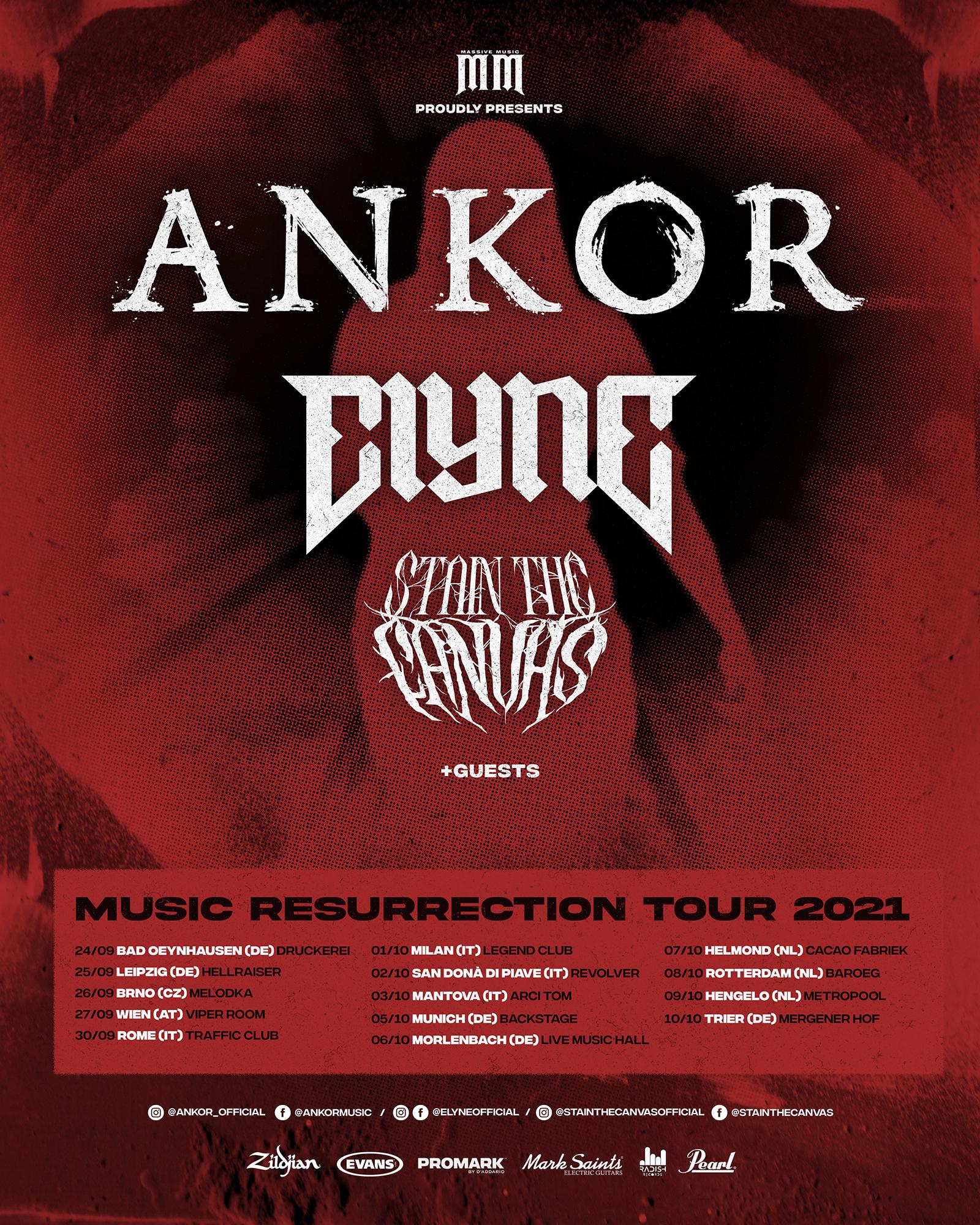 Ankor Tour Plakat 2021