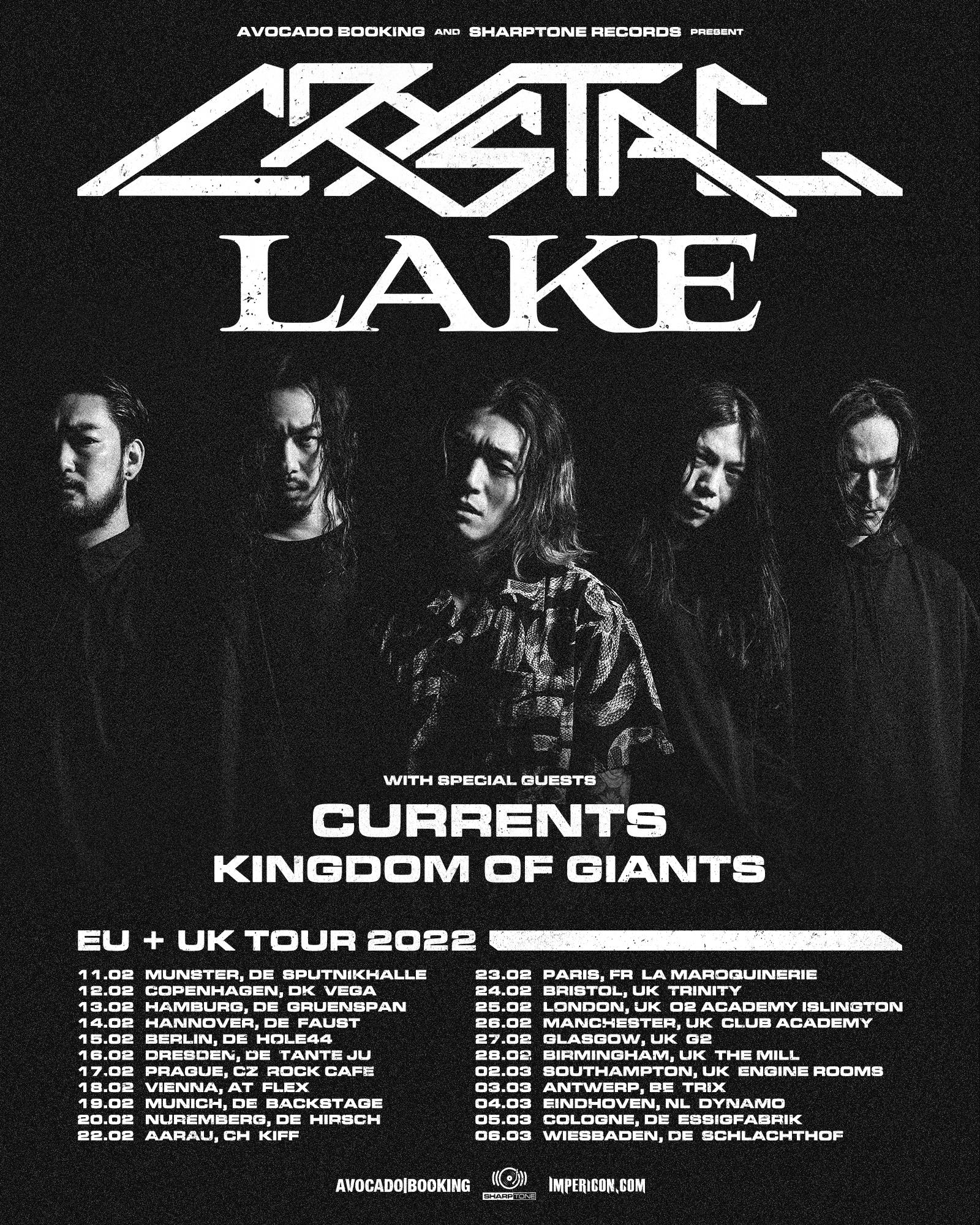 Crystal Lake Tourplakat
