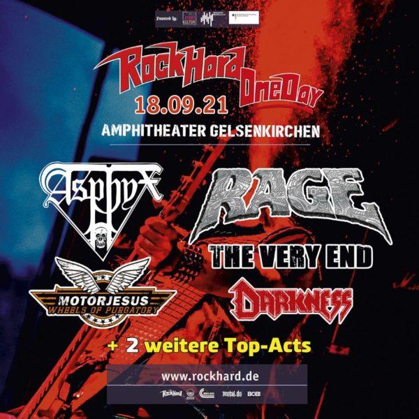 Rock Hard One Day 2021 Festival Flyer